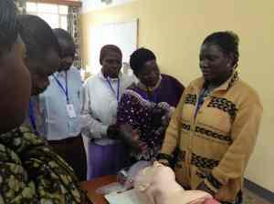 Malingumu teaches adult resusciation
