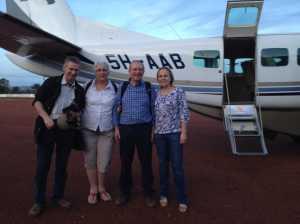 Safe arrival Bukoba