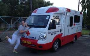 Sophia - obstetrician, pilot and ambulance model...
