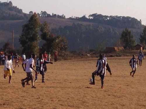 Boma FC Milo play in Bala FC shirts